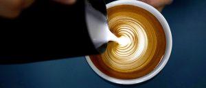 咖啡怎么拉花